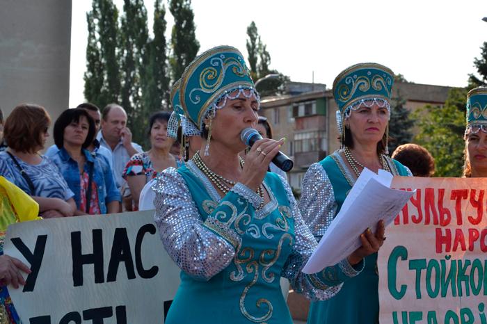 митинг в Измаиле