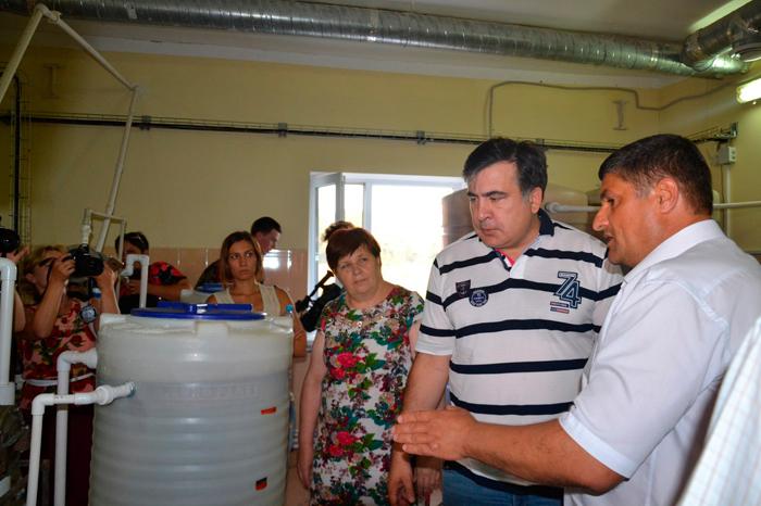 Саакашвили в Измаиле