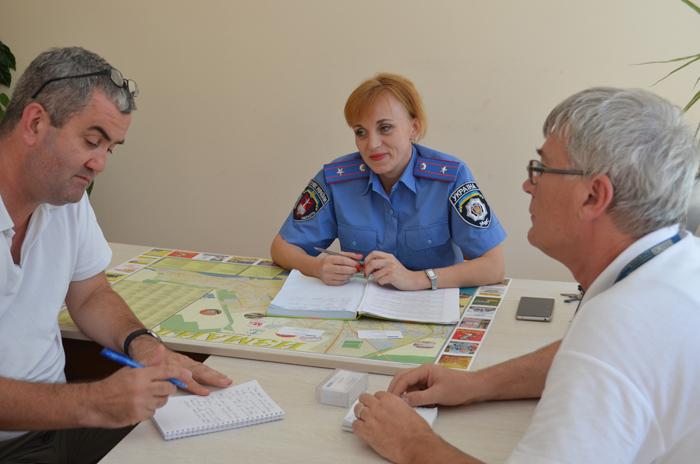 Представители ОБСЕ побывали в Измаильском отделе полиции