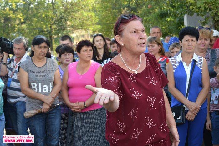 Сход села в Лощиновке