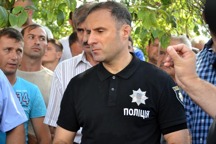 Саакашвили в Лощиновке