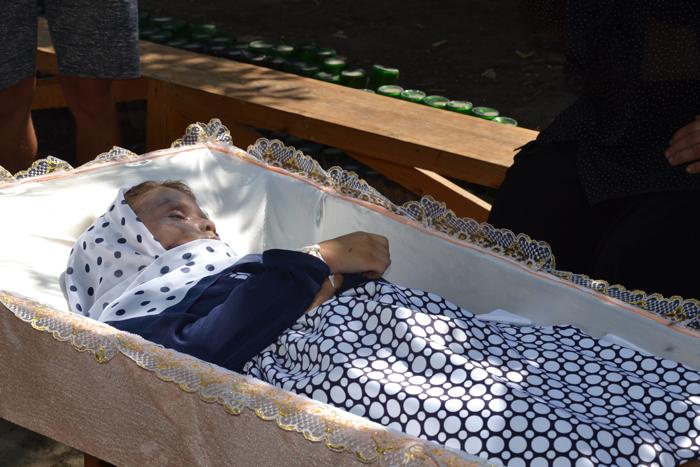 похороны Ангелины