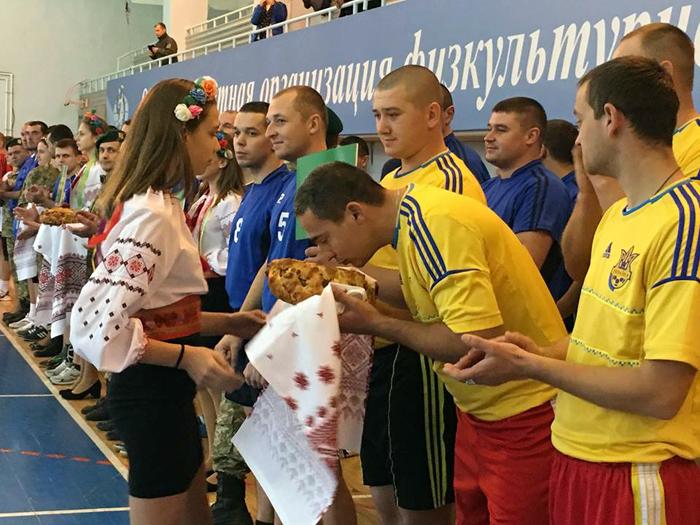 Пограничники Измаильского отряда приняли участие в ежегодном чемпионате по волейболу