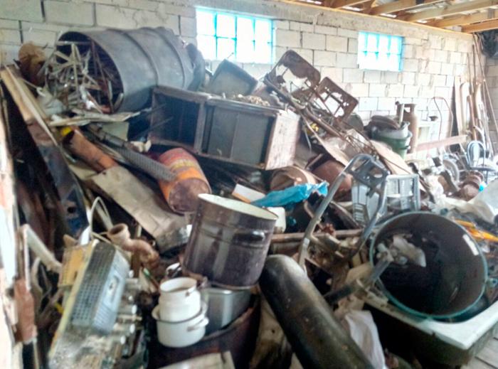 Измаильские правоохранители выявили пункт приема металлолома