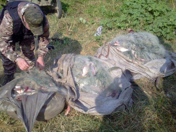 Измаильские пограничники задержали браконьеров на озере Ялпуг