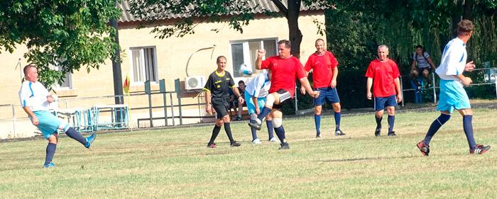 етераны измаильского футбола - полуфиналисты Кубка Одесской области