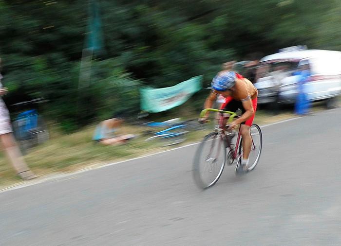 В Измаиле соревновались велосипедисты