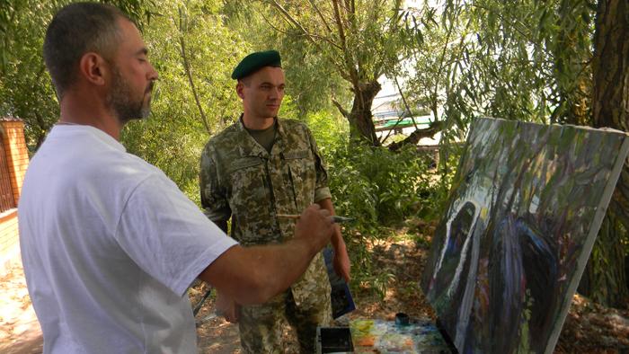 В Измаильском пограничном отряде творили художники