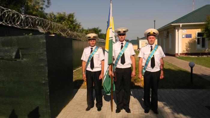 В Измаильском учебно-тренировочном отряде морской охраны 20 срочников присягнули на верность украинскому народу