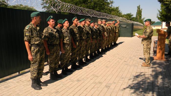 В Измаильском пограничном отряде очередная демобилизация
