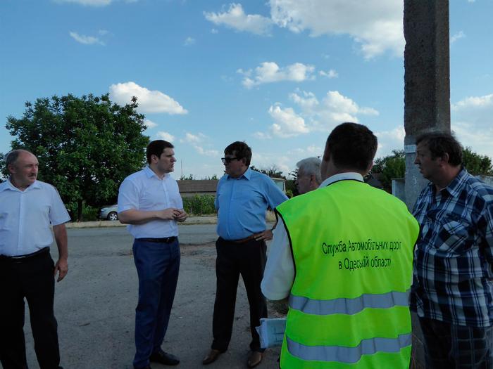 ремонт дорог в Измаильском районе