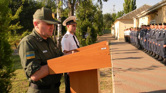 Измаильский учебно-тренировочный отряд морской охраны отметил День части