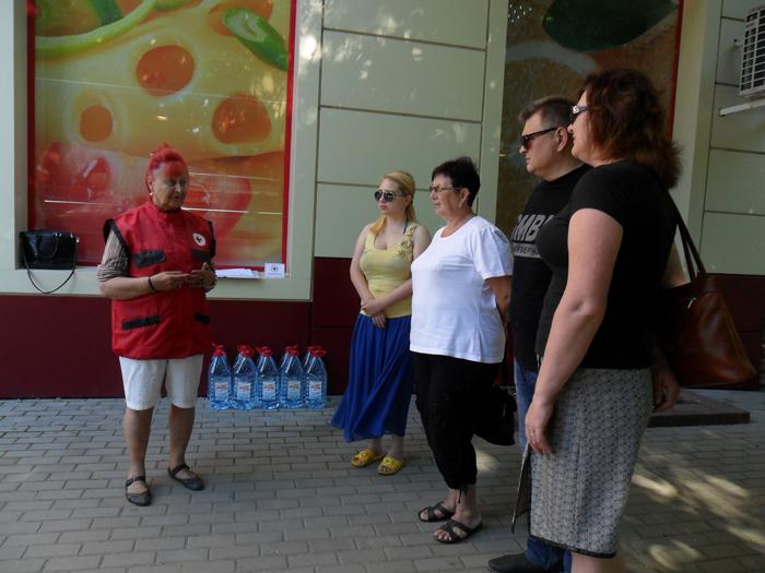 Будни Измаильской организации Общества Красного Креста в условиях ЧС