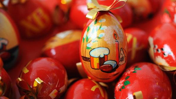 Пасхальные яйца (видео)