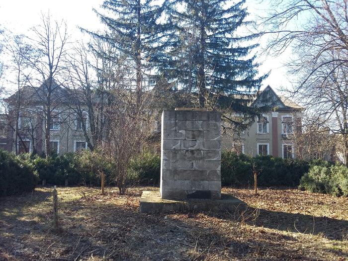 памятник Ленину Измаил