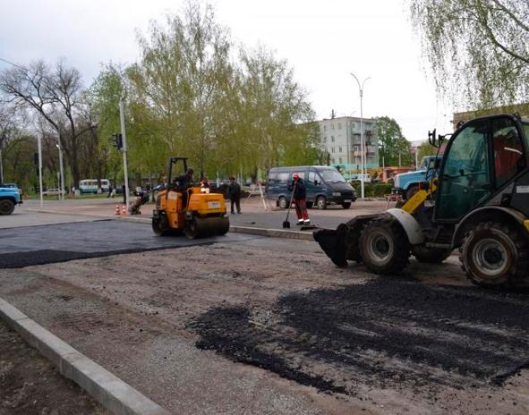 ремонт дорог Измаил