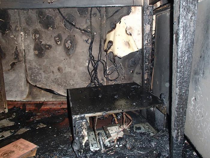 Пожар в Измаиле