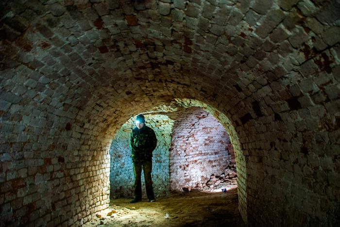 Подземелья Измаила: подземный ход свечного завода