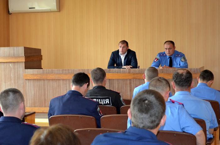 Килийским полицейским представили нового начальника (ФОТО)