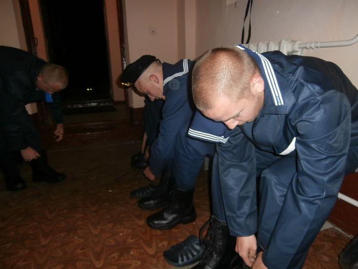 В Измаильский учебно-тренировочный отряд морской охраны прибыли первые срочники