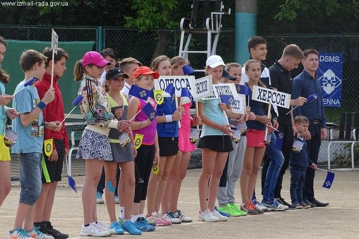 большой теннис Измаил