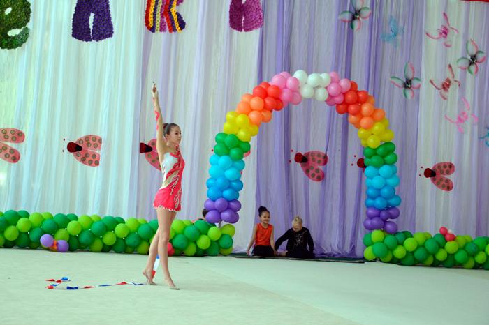 В Измаиле состоялся XIV Международный турнир по художественной гимнастике «Веселка»