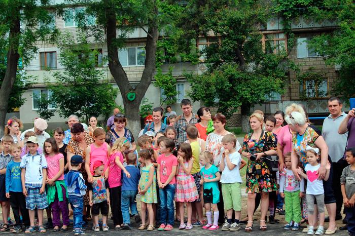 В канун Дня защиты детей измаильской детворе преподнесли подарок
