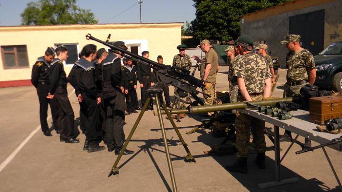 Будущие защитники Отечества в гостях у элитного подразделения Измаильского отряда