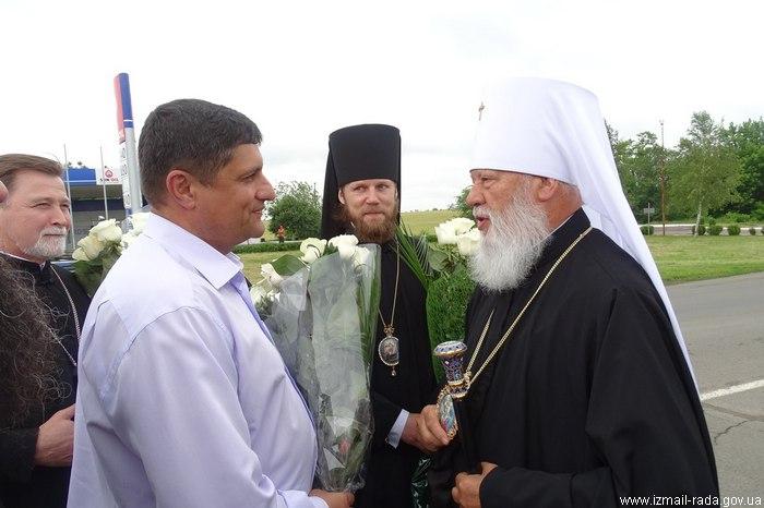 В Измаил приехал митрополит