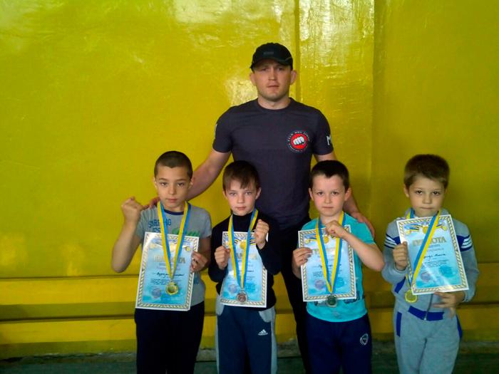чемпионат по сокарате в Болграде