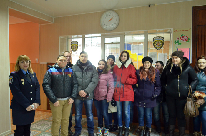 Студенты в полиции Измаила