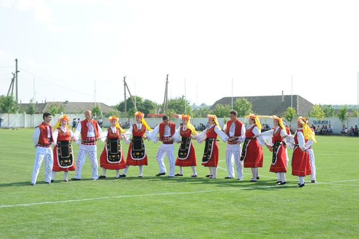 В селе Кирнички прошел культурно-спортивный праздник