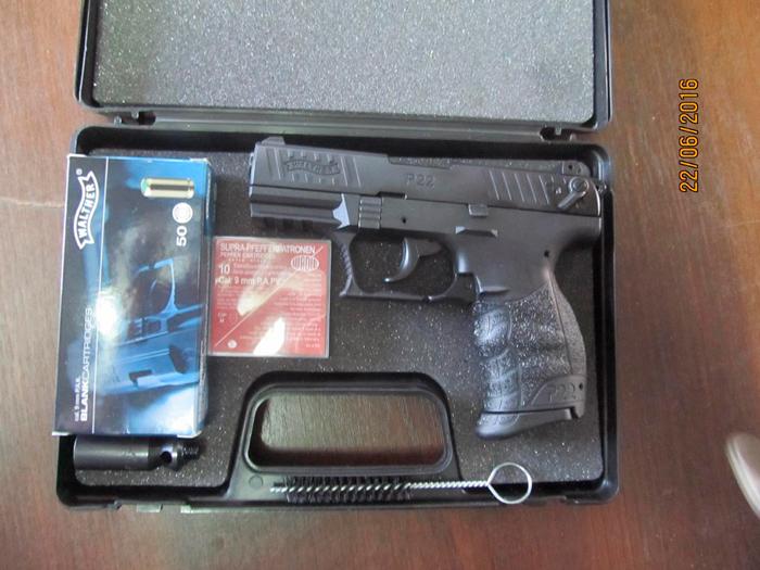 в авто обнаружен пистолет