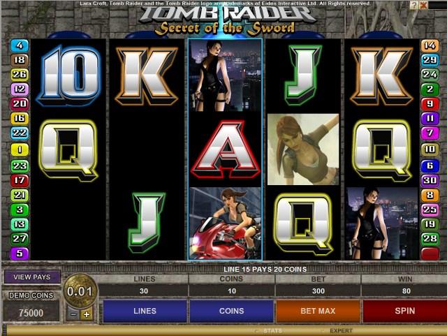 игровой автомат Tomb Raider 2 онлайн бесплатно и без регистрации в казино