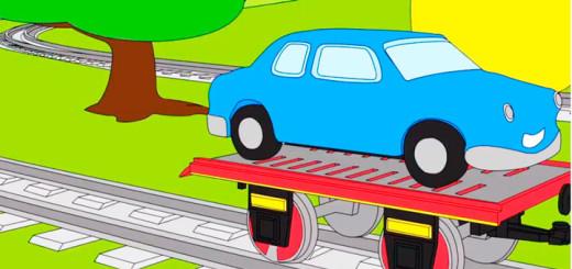 мультики про машинки и паровозики