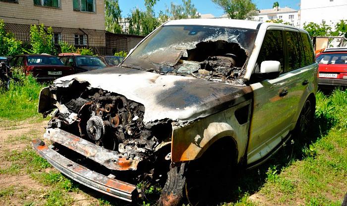 Поджог авто. Измаил