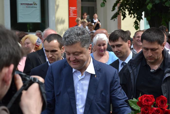 Петр Порошенко в Измаиле